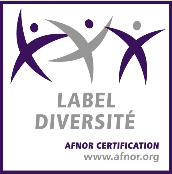 Logo du label diversité de l'AFNOR