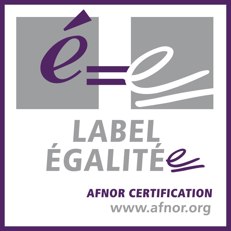 Logo du label égalité de l'AFNOR