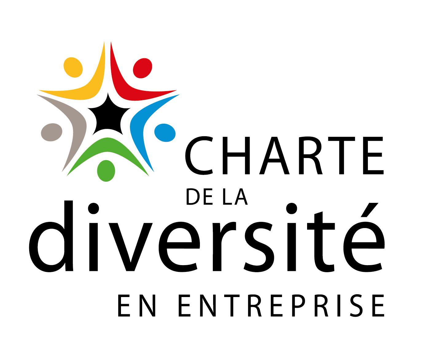 Logo de la charte de la diversité en entreprise